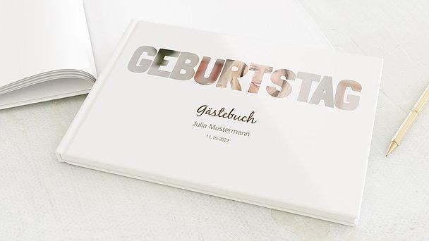 Gästebuch Geburtstag - Geburtstag
