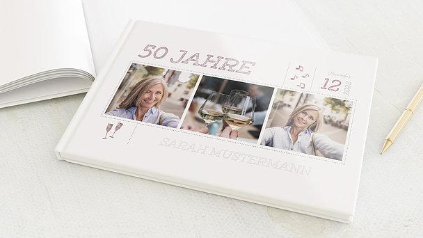 Gästebuch Geburtstag - Terminsache 50