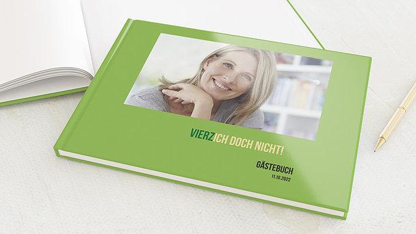 Gästebuch Geburtstag - Vierzich