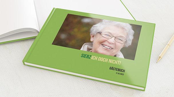 Gästebuch Geburtstag - Siebzich