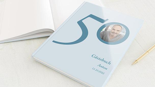Gästebuch Geburtstag - Meine Fünfzig