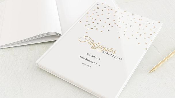 Gästebuch Geburtstag - Geburtstagsglamour