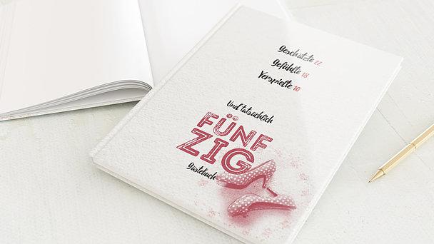 Gästebuch Geburtstag - Wahres Alter 50