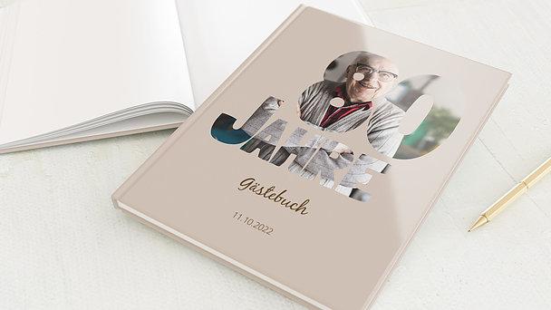 Gästebuch Geburtstag - Stolze 80