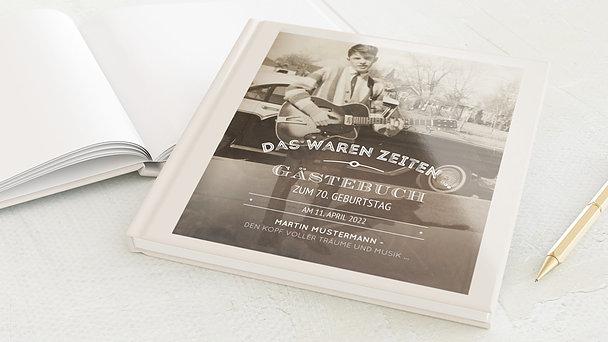 Gästebuch Geburtstag - Alte Zeiten 70