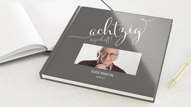 Gästebuch Geburtstag - Sagenhafte Achtzig