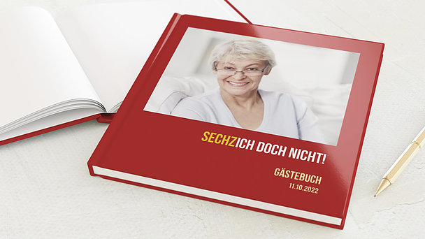 Gästebuch Geburtstag - Sechzich