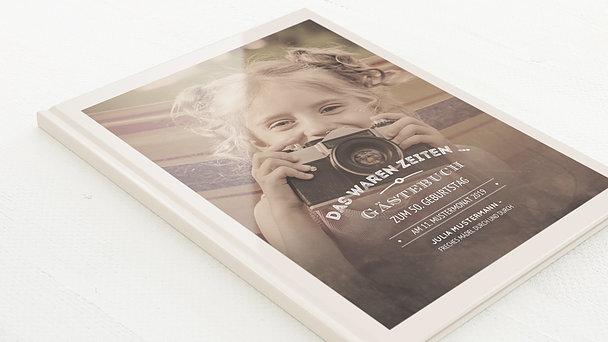 Gästebuch Geburtstag - Alte Zeiten 50