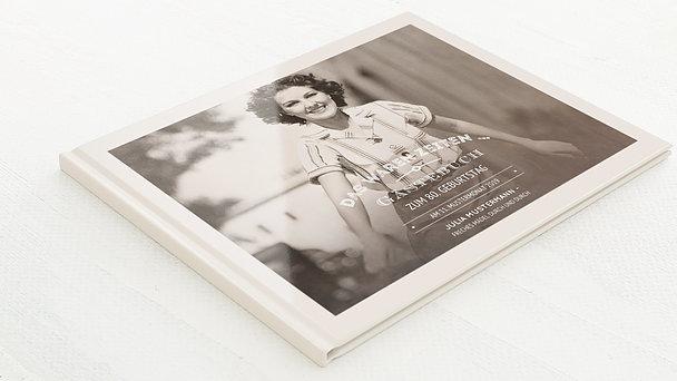 Gästebuch Geburtstag - Alte Zeiten 80