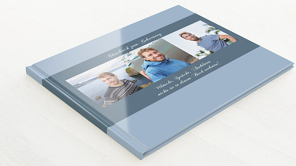 Gästebuch Geburtstag - Dreiklang