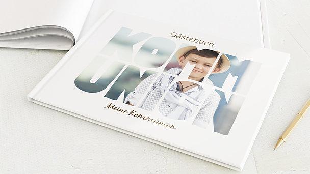 Gästebuch Kommunion - Fototext