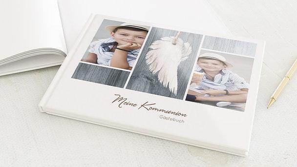 Gästebuch Kommunion - Geflügelt