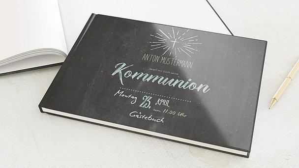Gästebuch Kommunion - Ankündigung