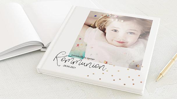Gästebuch Kommunion - Konfettifreude