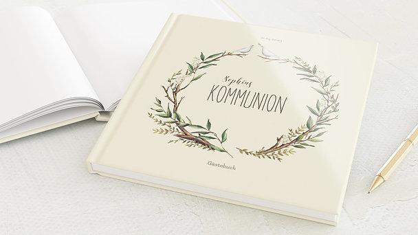 Gästebuch Kommunion - Kommunionkranz
