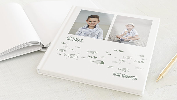 Gästebuch Kommunion - Ausschwärmen