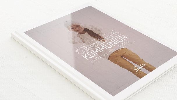 Gästebuch Kommunion - Kommunionswimpel