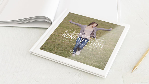 Gästebuch Konfirmation - Konfirmationswimpel