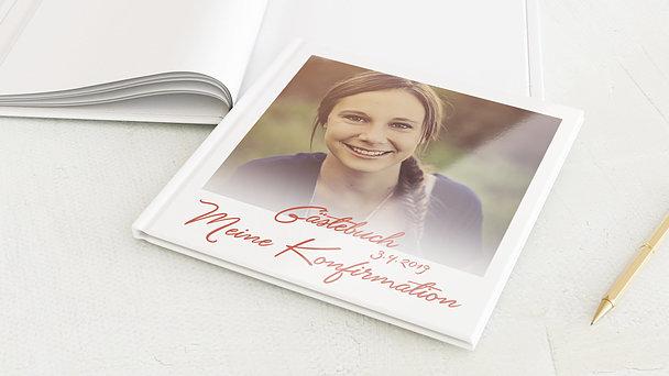 Gästebuch Konfirmation - Ganz groß