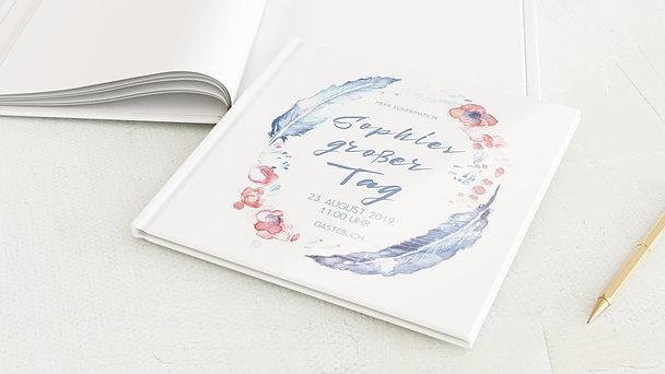 Gästebuch Konfirmation - Federkiel
