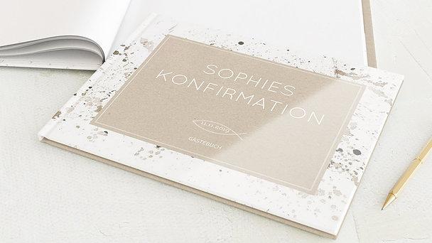 Gästebuch Konfirmation - Konfirmations-Impression