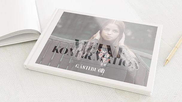 Gästebuch Konfirmation - Das große Ereignis Konfirmation