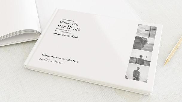 Gästebuch Konfirmation - Kraft des Glaubens