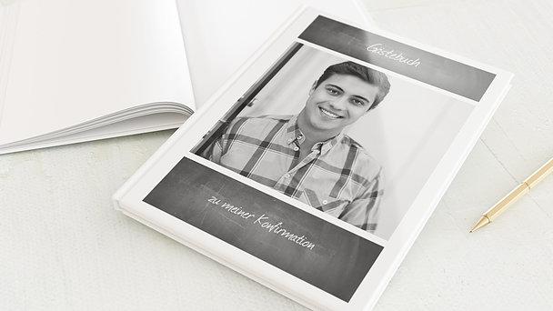 Gästebuch Konfirmation - Getäfelt