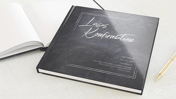 Gästebuch Konfirmation - Tafelglanz
