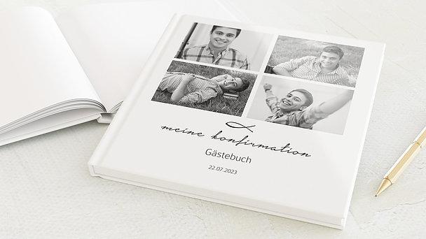 Gästebuch Konfirmation - Liebevolle Konfirmation