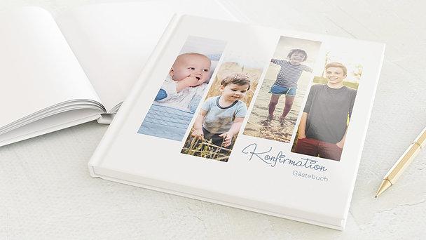 Gästebuch Konfirmation - So schnell groß