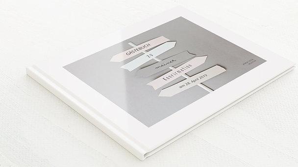 Gästebuch Konfirmation - Wegweiser