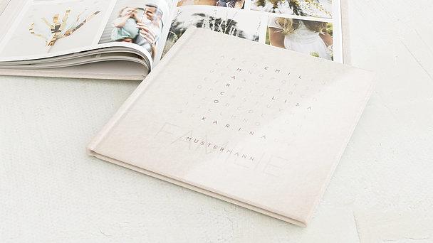 Familienalbum - Buchstabenrätsel