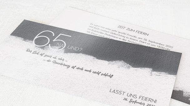 Geburtstagseinladungen - Neuer Anstrich 65