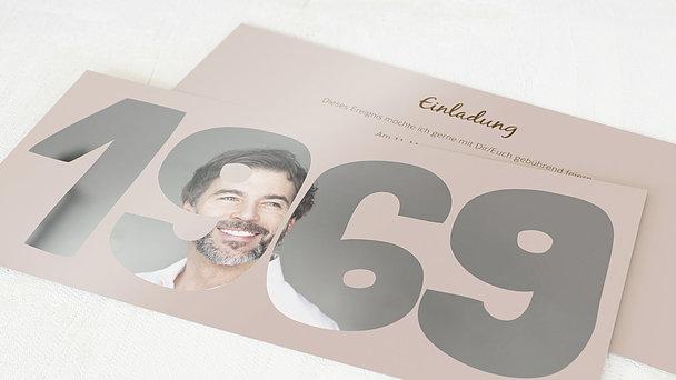 Geburtstagseinladungen - Jahrgang 1969