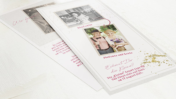 Geburtstagseinladungen - Große Freude 75