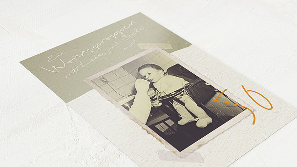 Geburtstagseinladungen - Wonneproppen 50