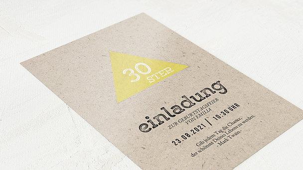 Einladungen 30 Geburtstag Selbst Gestalten: Einladung 30 Geburtstag Bierdeckel
