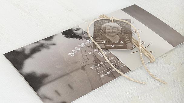 Geburtstagseinladungen - Alte Zeiten 85