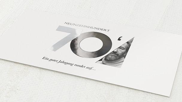 Geburtstagseinladungen - Aufgerundet 50