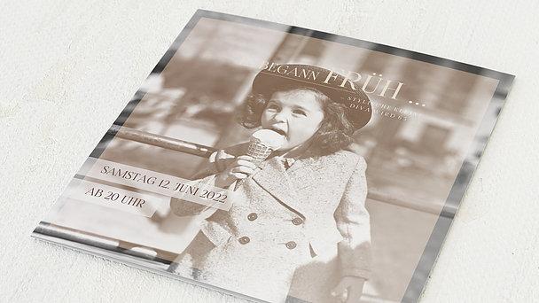Geburtstagseinladungen - Diva 65
