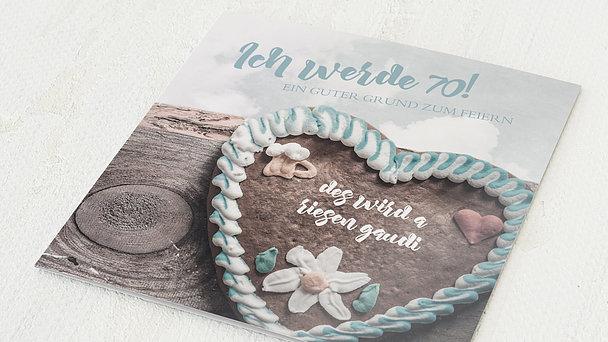 Geburtstagseinladungen - Gaudi 70
