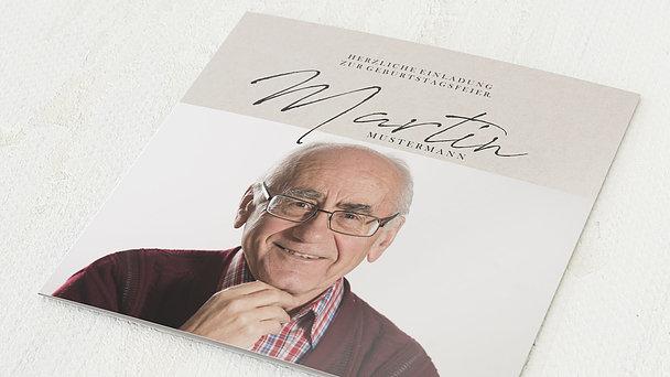 Geburtstagseinladungen - Wundervolle Jahre 75