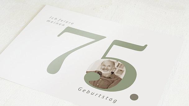 Geburtstagseinladungen - In Bestform 75