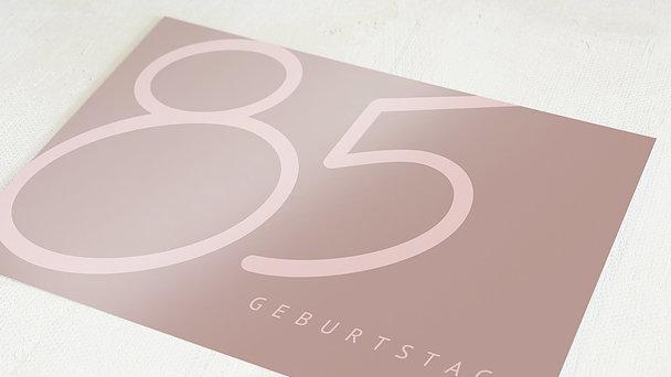 Geburtstagseinladungen - Famose 85