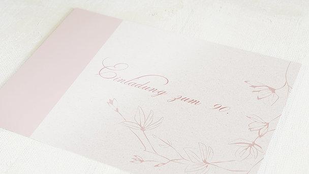 Geburtstagseinladungen - Stilblüte 90