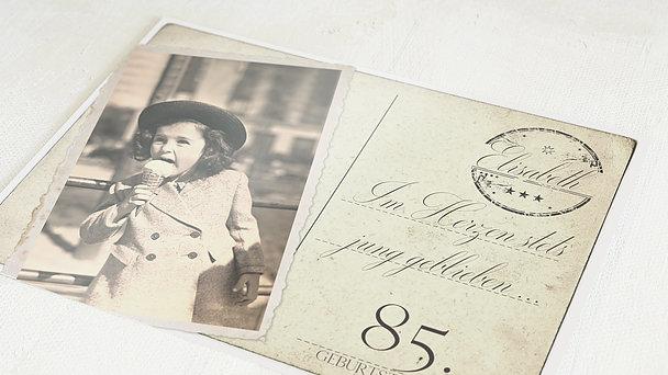 Einladungskarten 85 Geburtstag