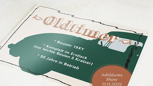 Geburtstagseinladungen - Oldie but Goldie