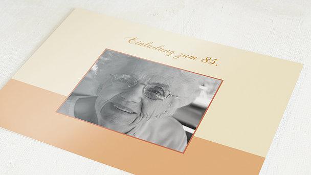 Geburtstagseinladungen - Lebensfreude 85