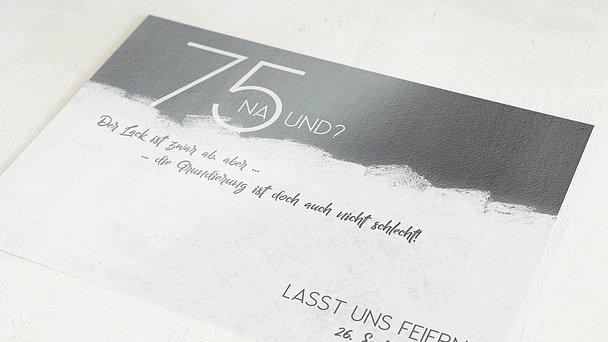 Geburtstagseinladungen - Neuer Anstrich 75